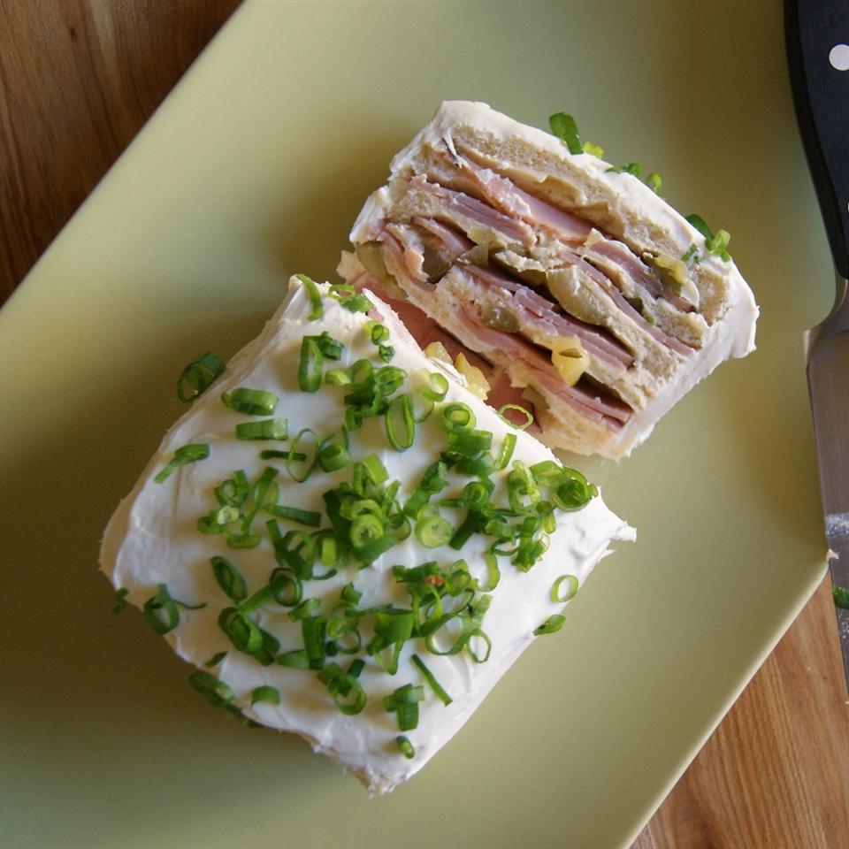 Frosted Sandwich Loaf EWEDIN31