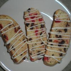 Chocolate Cherry Biscotti