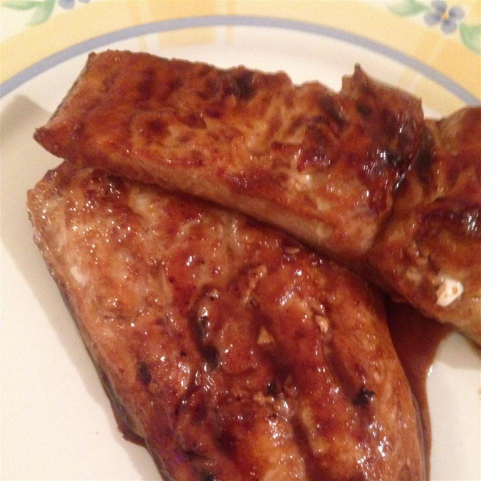 Teriyaki Salmon Gina