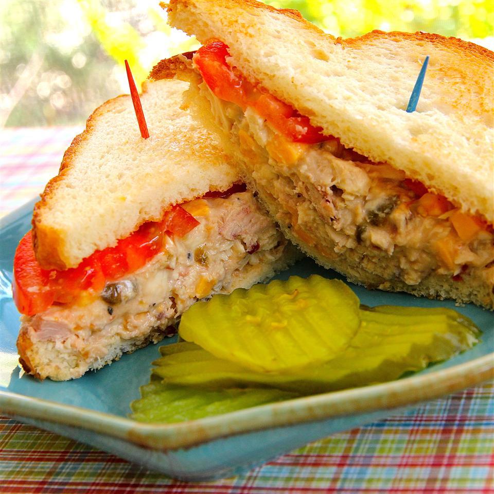 Spicy Tuna Fish Sandwich