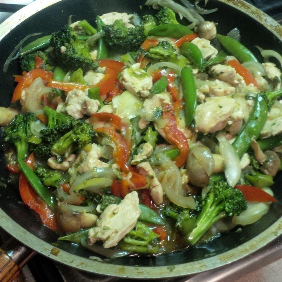 Garlic Chicken Stir Fry Nadz
