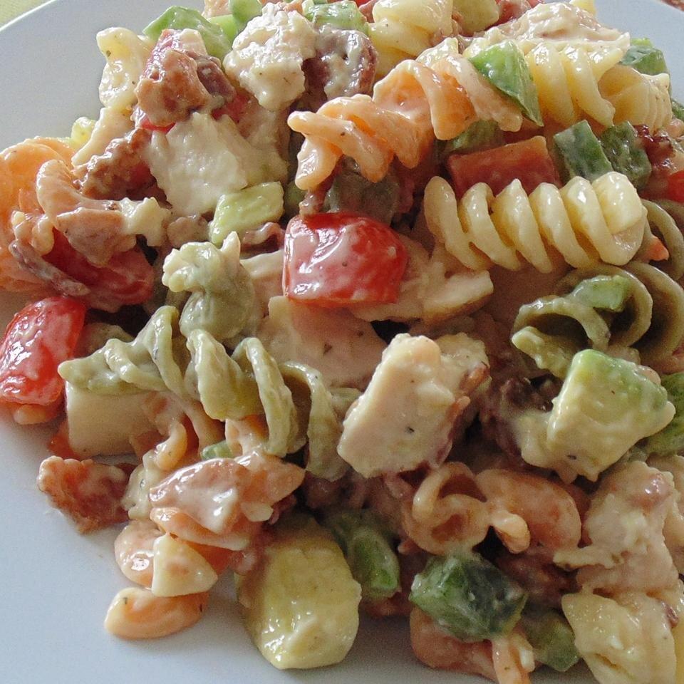 Chicken Club Pasta Salad Recipe Allrecipes