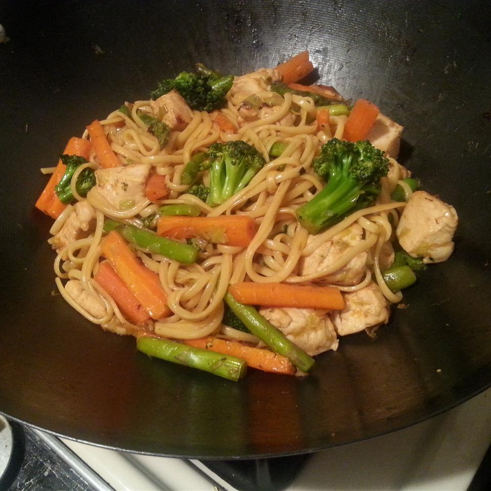 Chinese Noodle Chicken just_jam