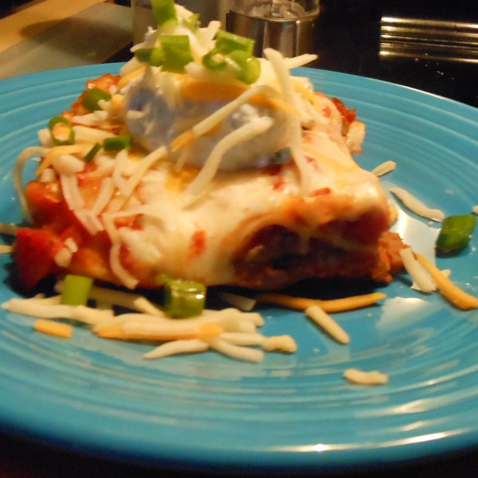 Mexican Lasagna with Noodles SSwisher