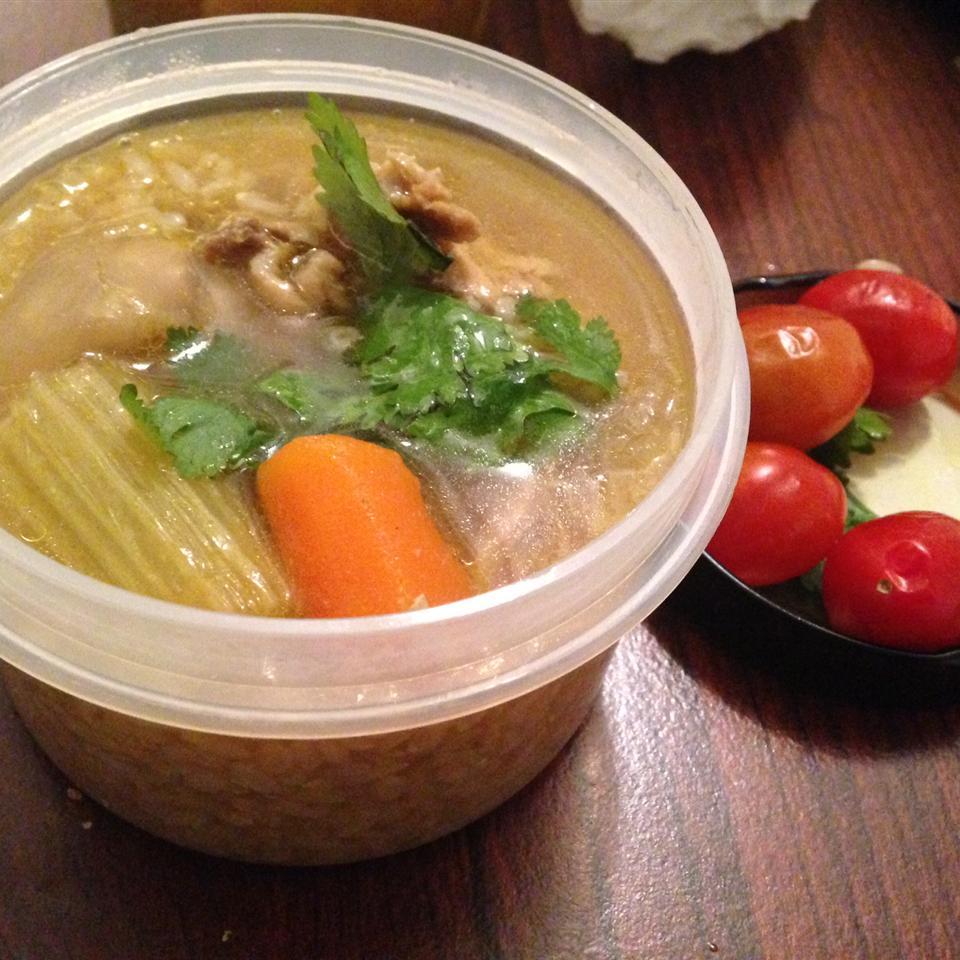 Caldo De Pollo (Mexican Chicken Soup) Carolina Torres