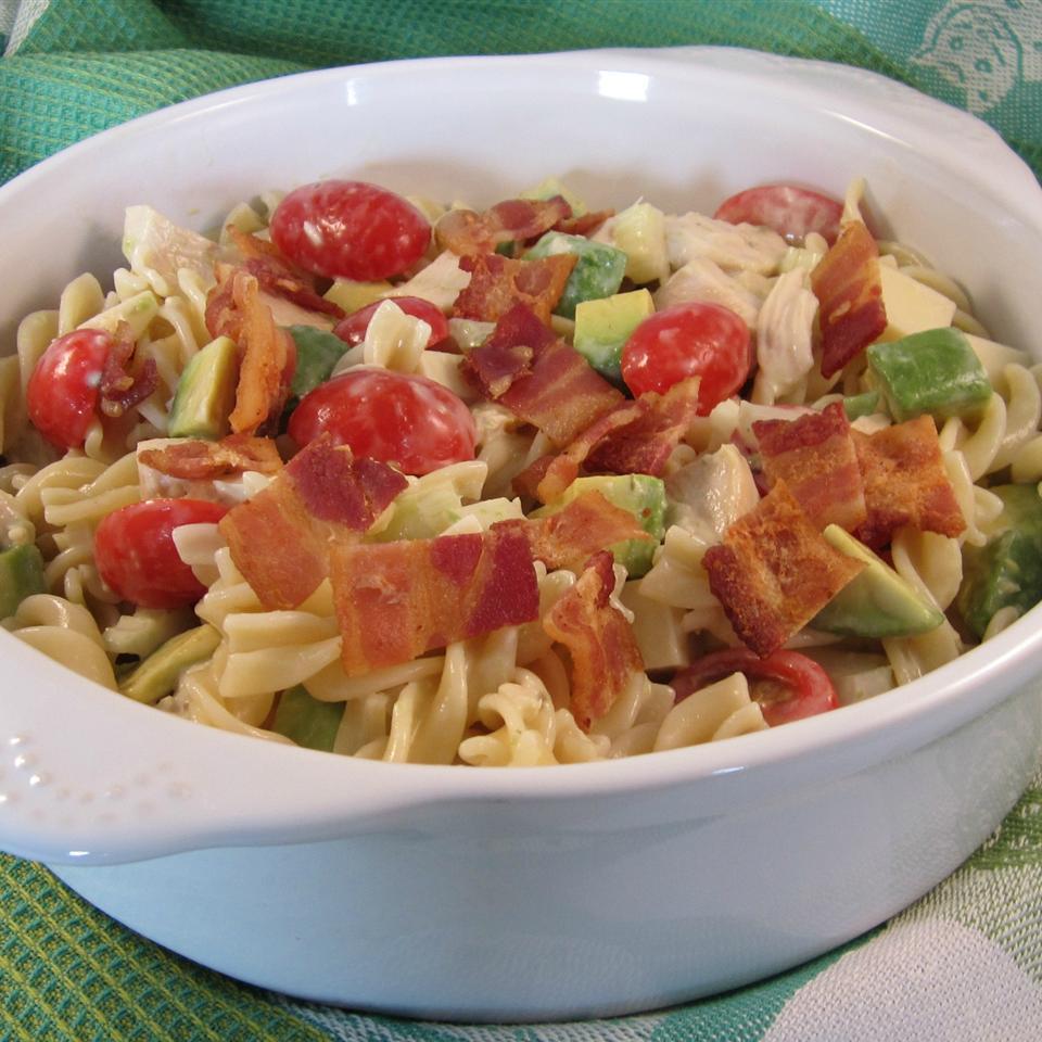 Chicken Club Pasta Salad Deb C