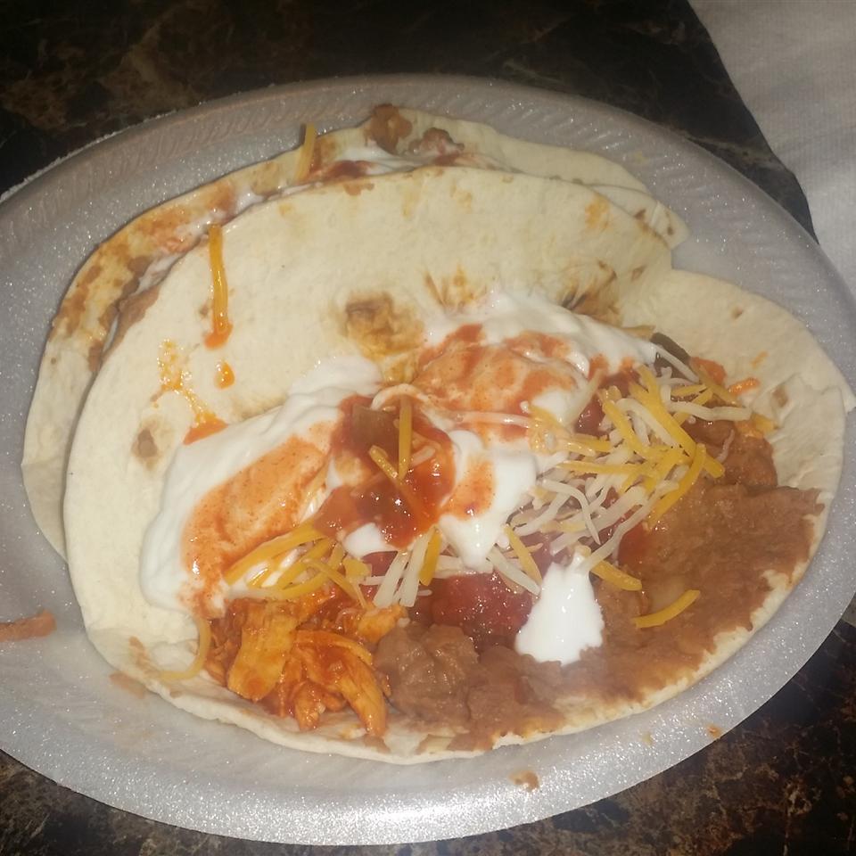 Shredded Chicken Tacos deucelod