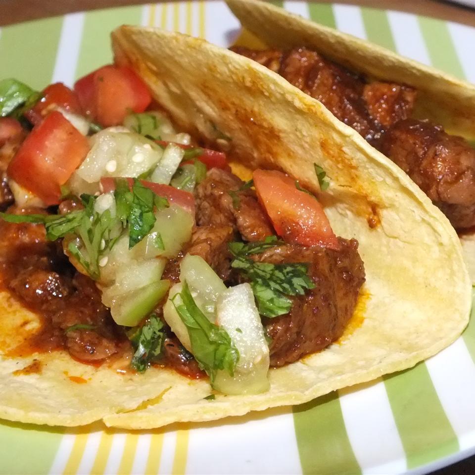 Pork Carnitas with Cilantro Tomatillo Sauce Robin Nicole Strickland