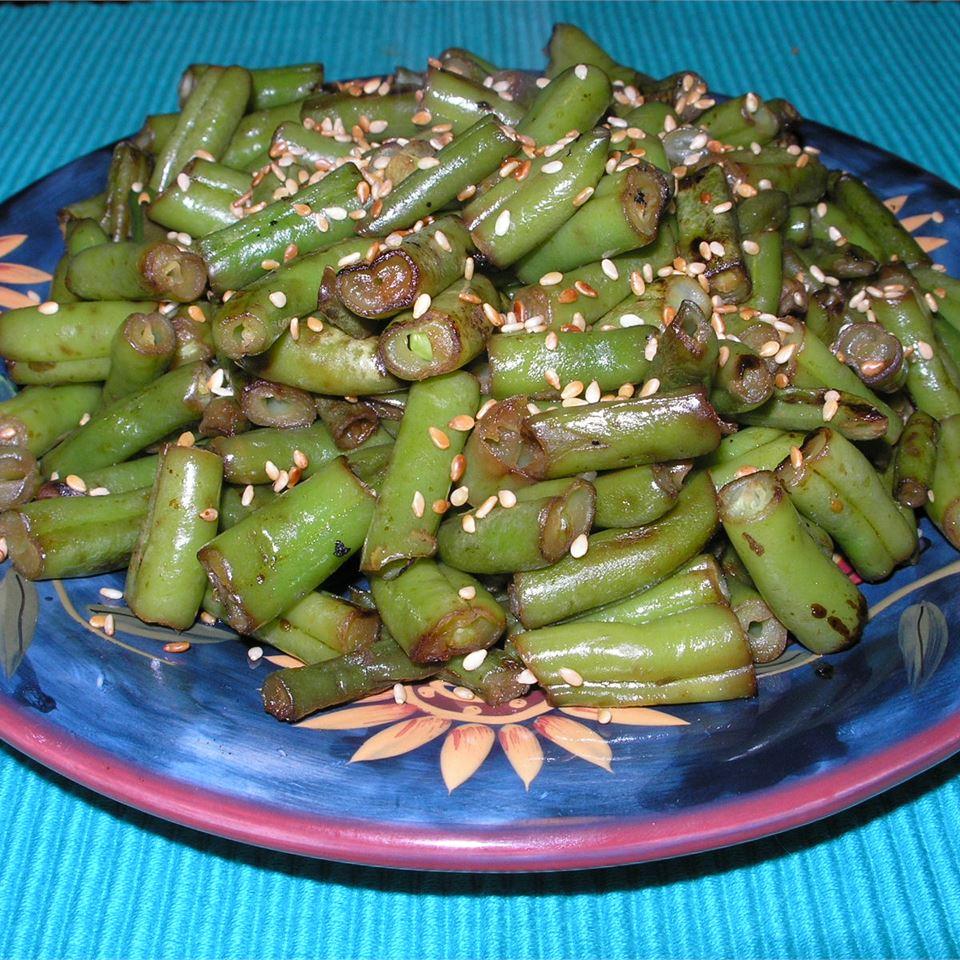 Japanese-Style Sesame Green Beans CHRISTYANA1