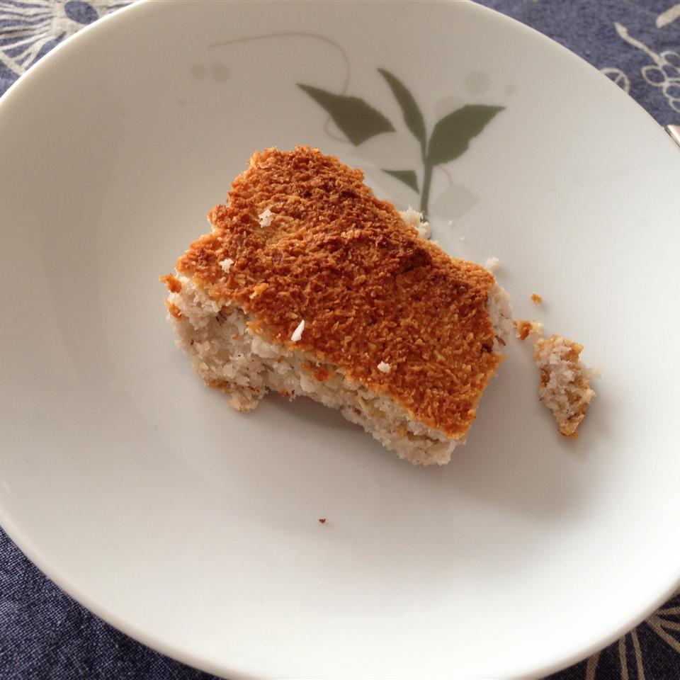 Healthy (No Sugar/Butter Added) Almond and Coconut Squares RockingJuliaCooks