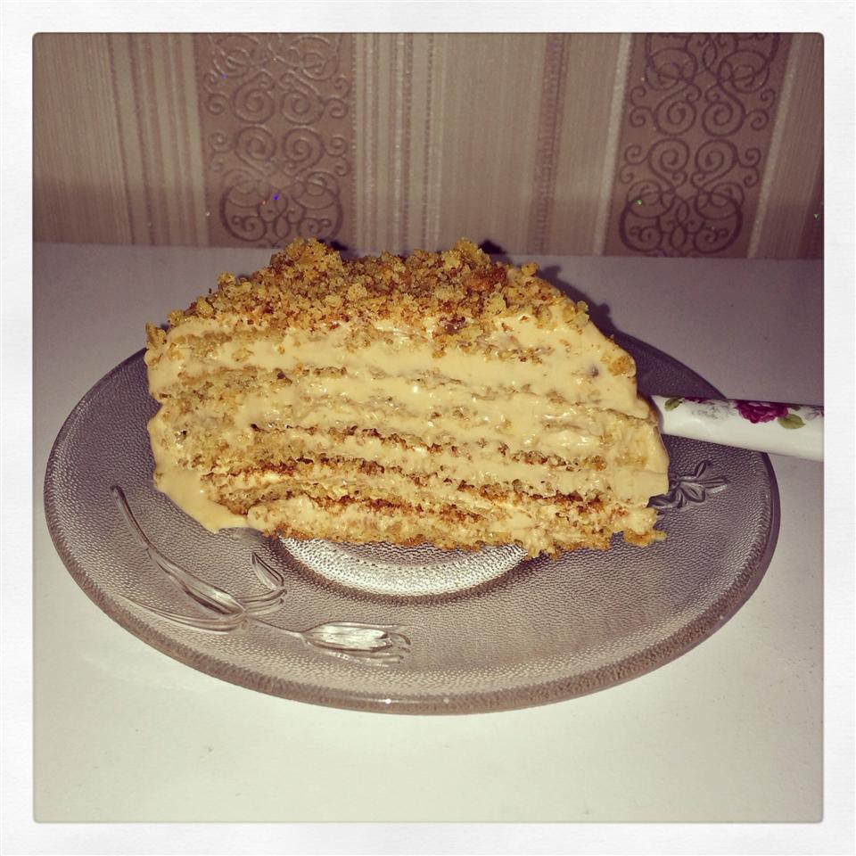 Latvian Honey Cake Putri