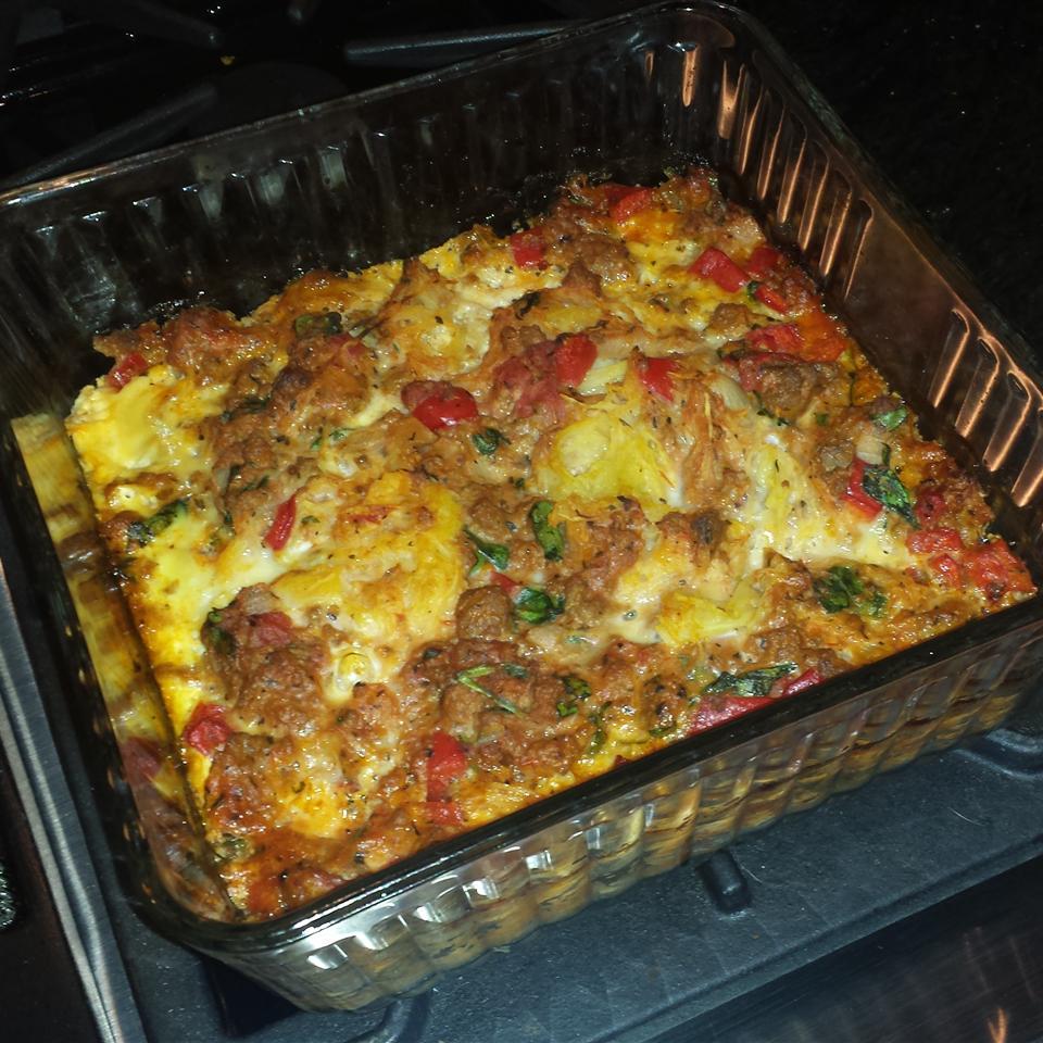 Paleo Spaghetti Pie (Grain, Gluten, and Dairy Free) Shannon Felgner