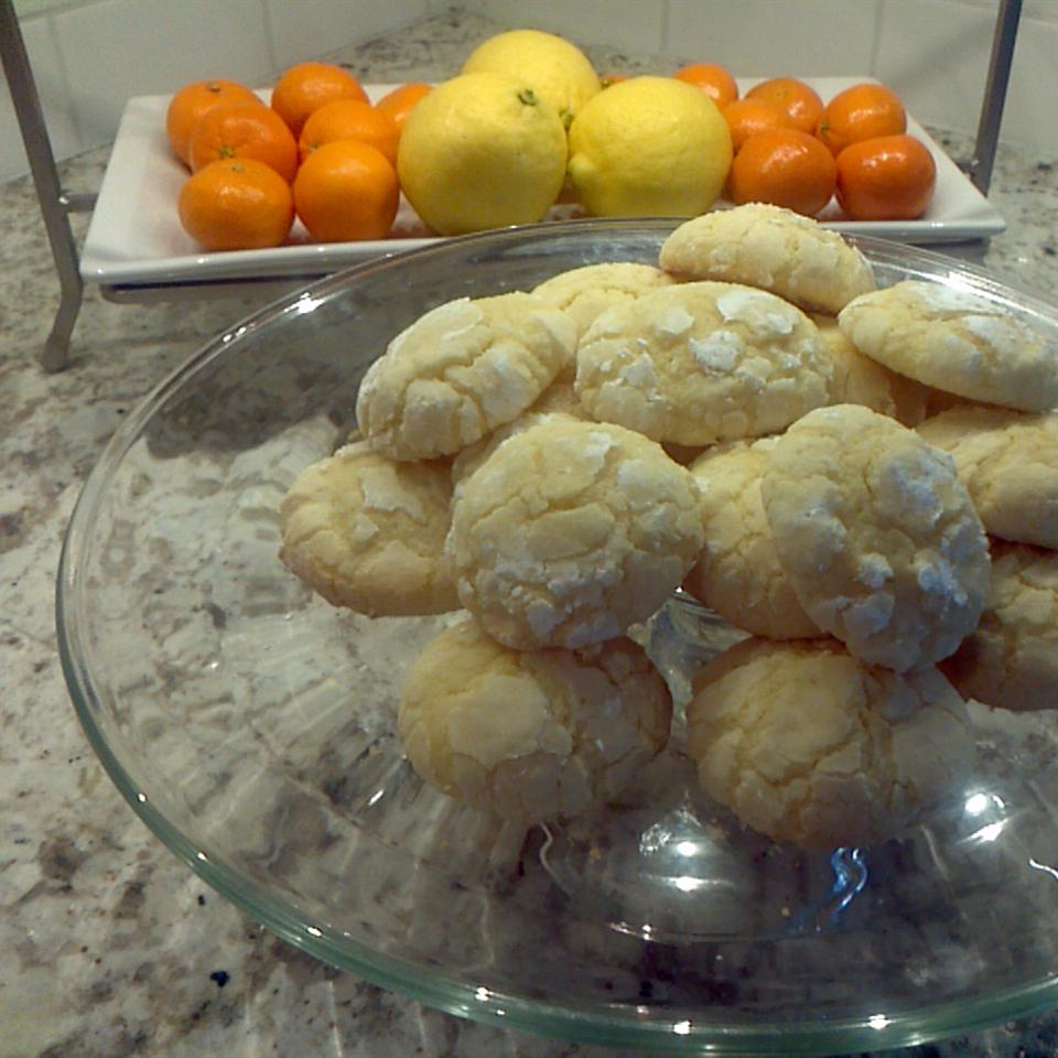 Lemon Cookies from Scratch