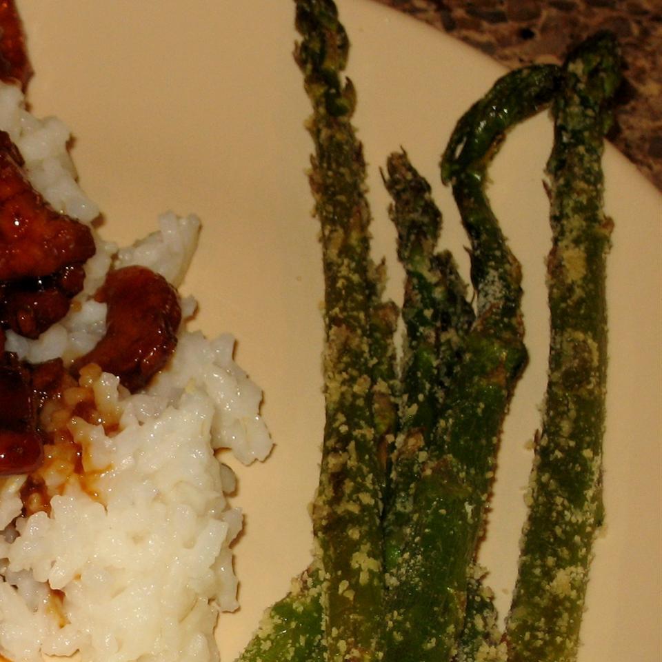 Parmesan Asparagus FROGHOPPER