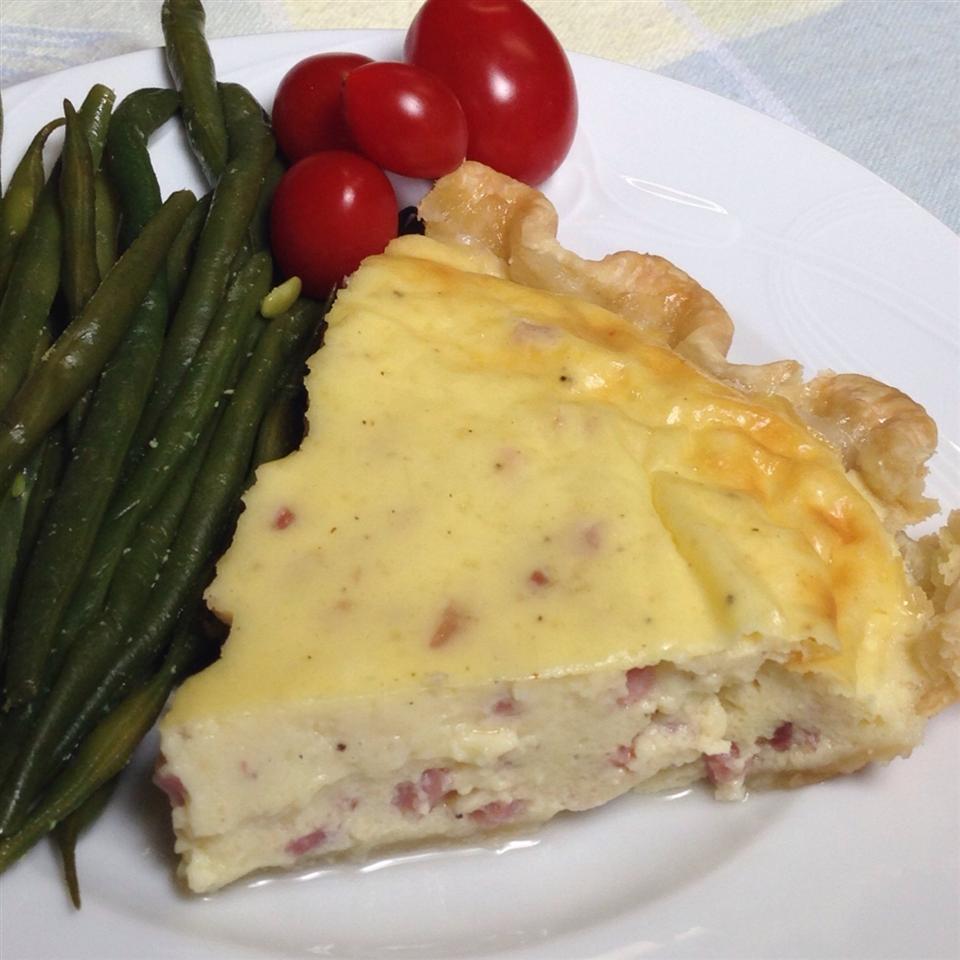 Swiss Ham Pie