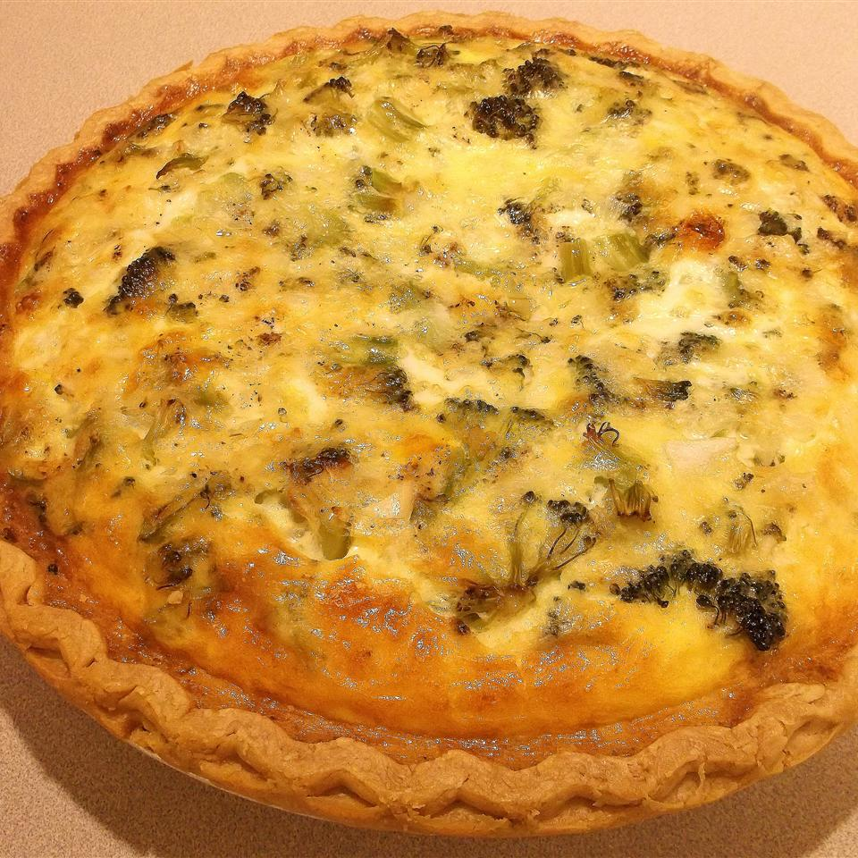 Easy Broccoli Quiche