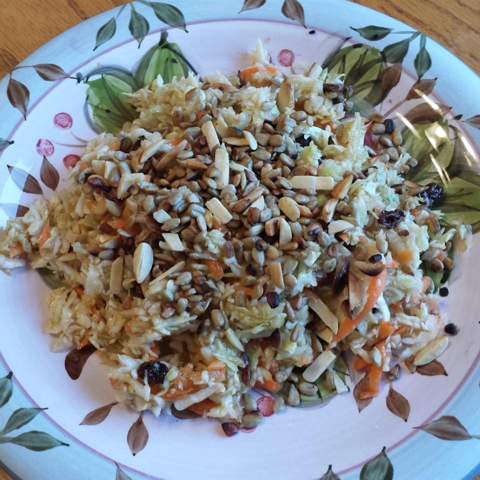 Angel's Cabbage Salad Lady at the Stove