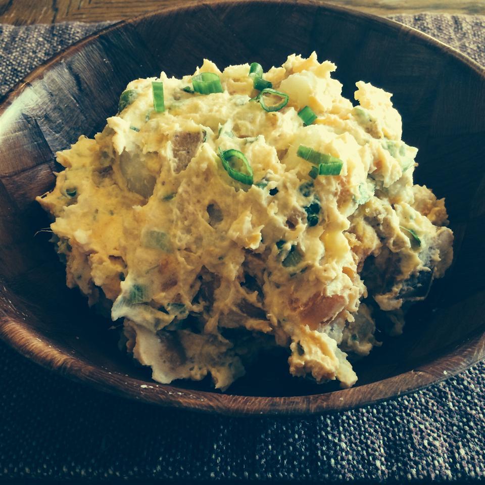 Sweet Potato-White Potato Salad