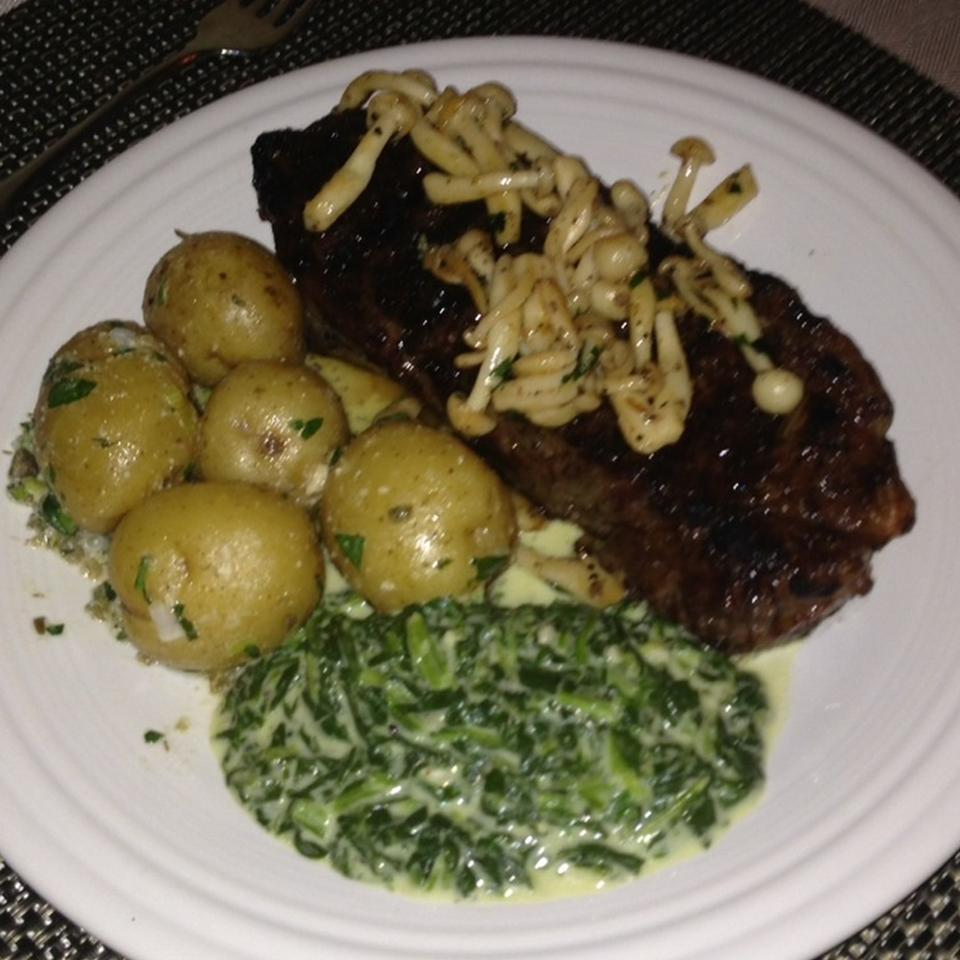 Sous Vide New York Strip Steak