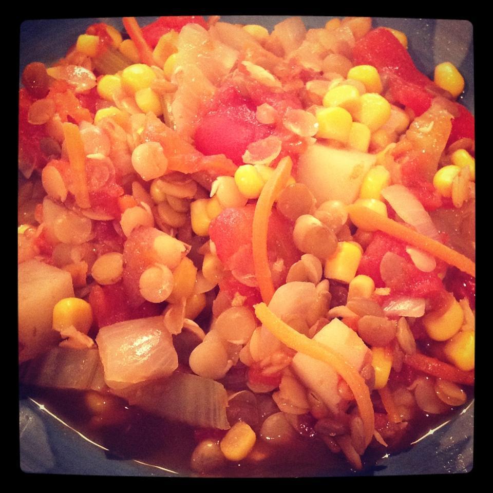 Hearty Lentil Soup II Angela Granados