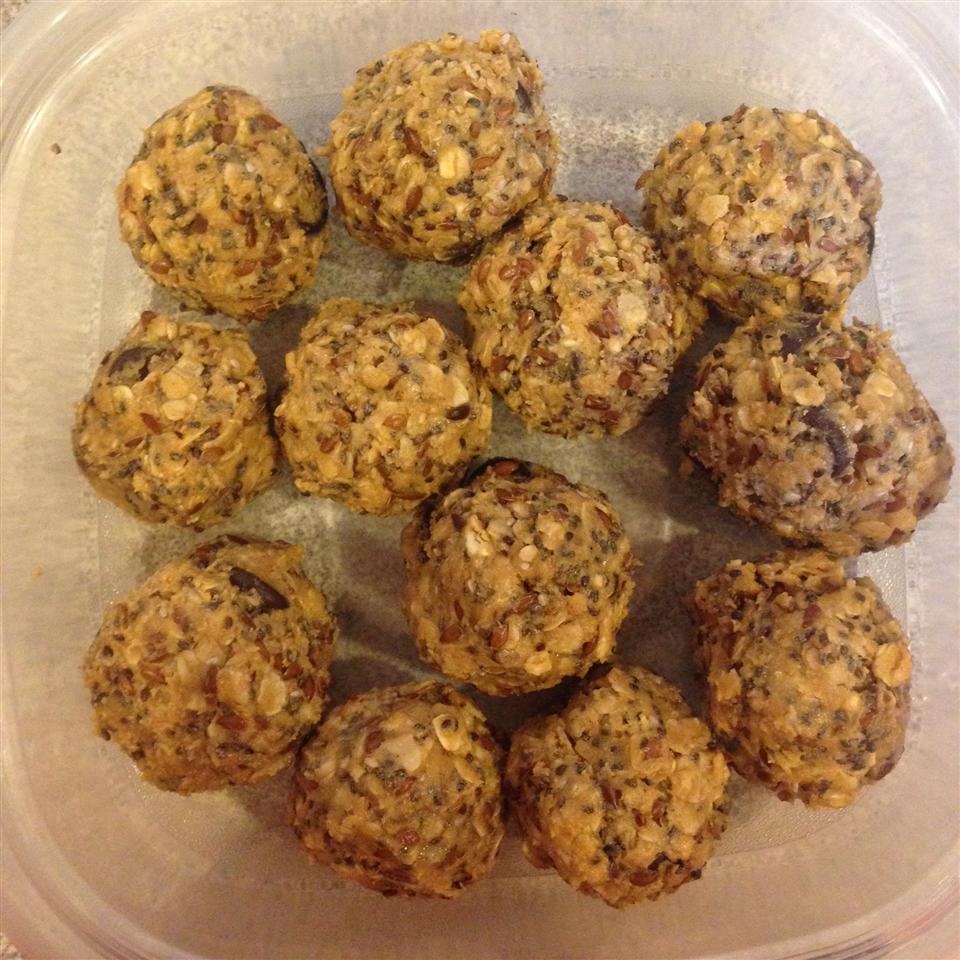 Chocolate Protein Balls Bryantau