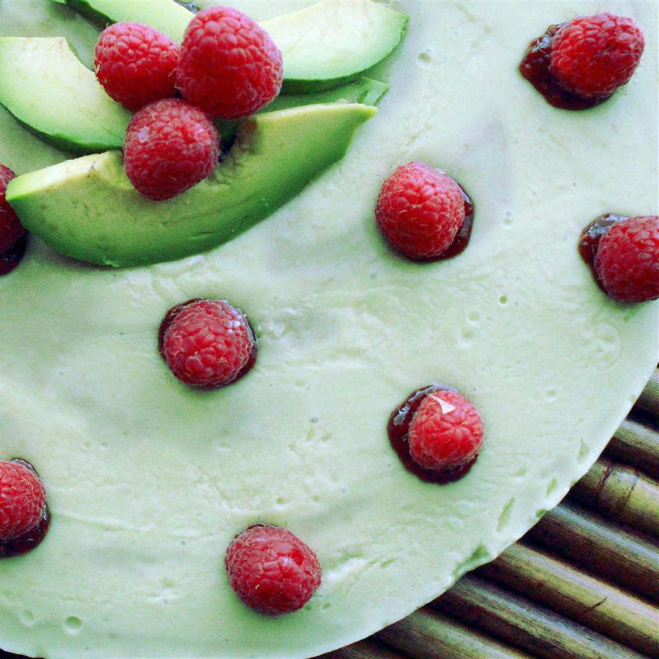 Avocado Cheesecake with Walnut Crust Jaana Smith Bauman