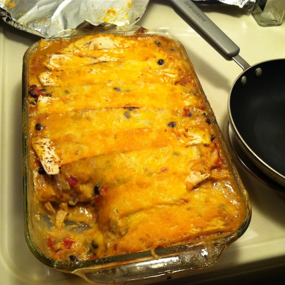Chicken Enchilada Casserole I Ahjah Alexander