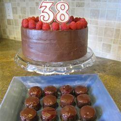 Deep Chocolate Raspberry Cake Nicole