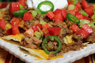 Over The Top Nachos Recipe Allrecipes Com Allrecipes