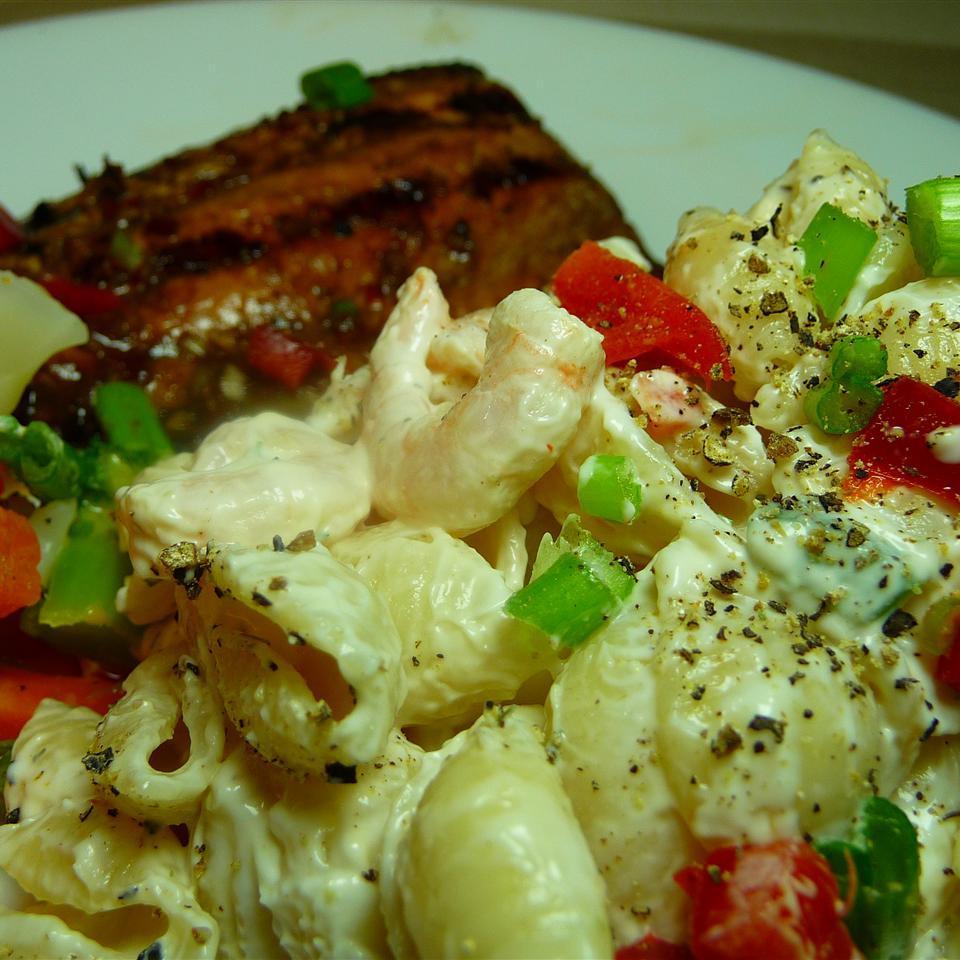 Shrimp and Pasta Shell Salad Kraig