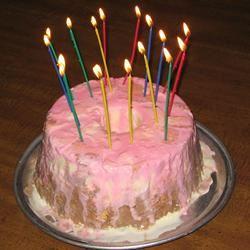 Cake and Ice Cream Cake