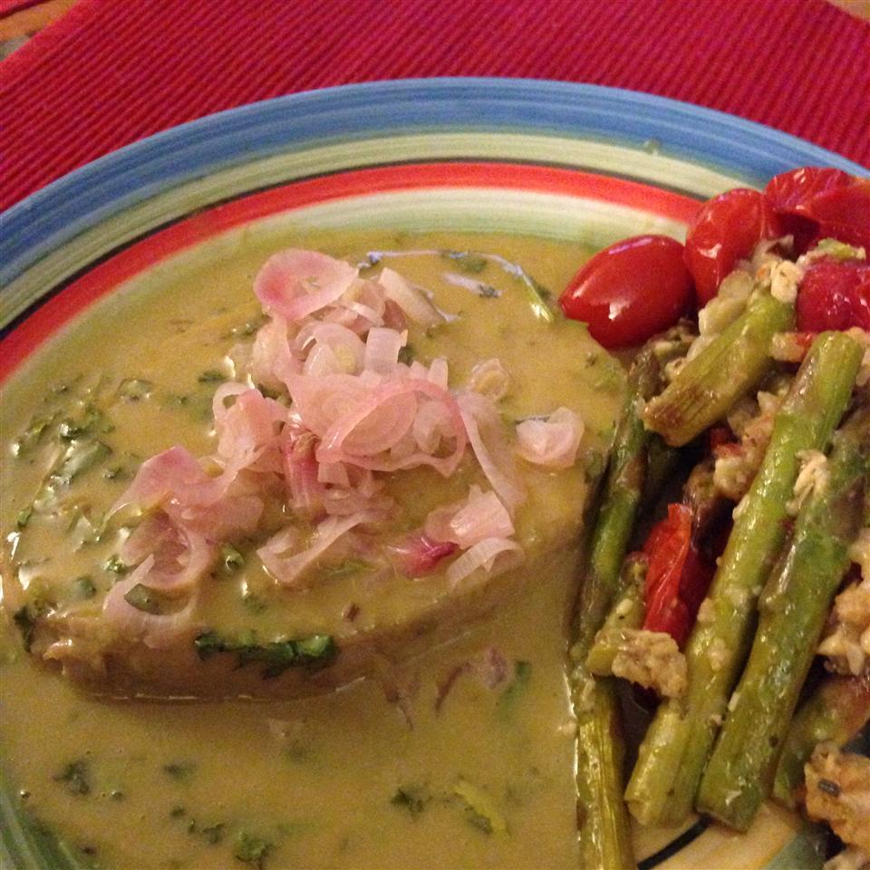 Seared Tuna with Wasabi-Butter Sauce wallykings