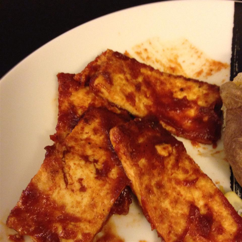 Barbecue Tofu Sandwiches uhleeseuh
