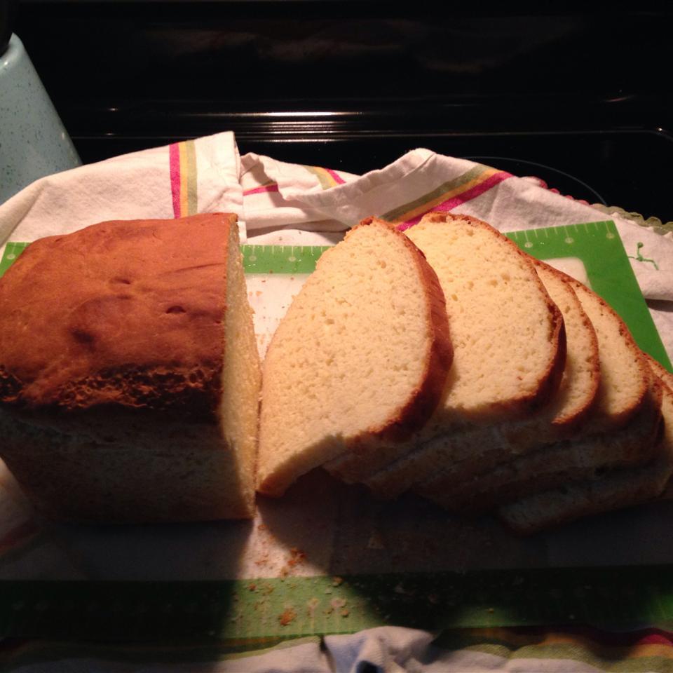 Gluten-Free White Bread for Bread Machines Yucca13