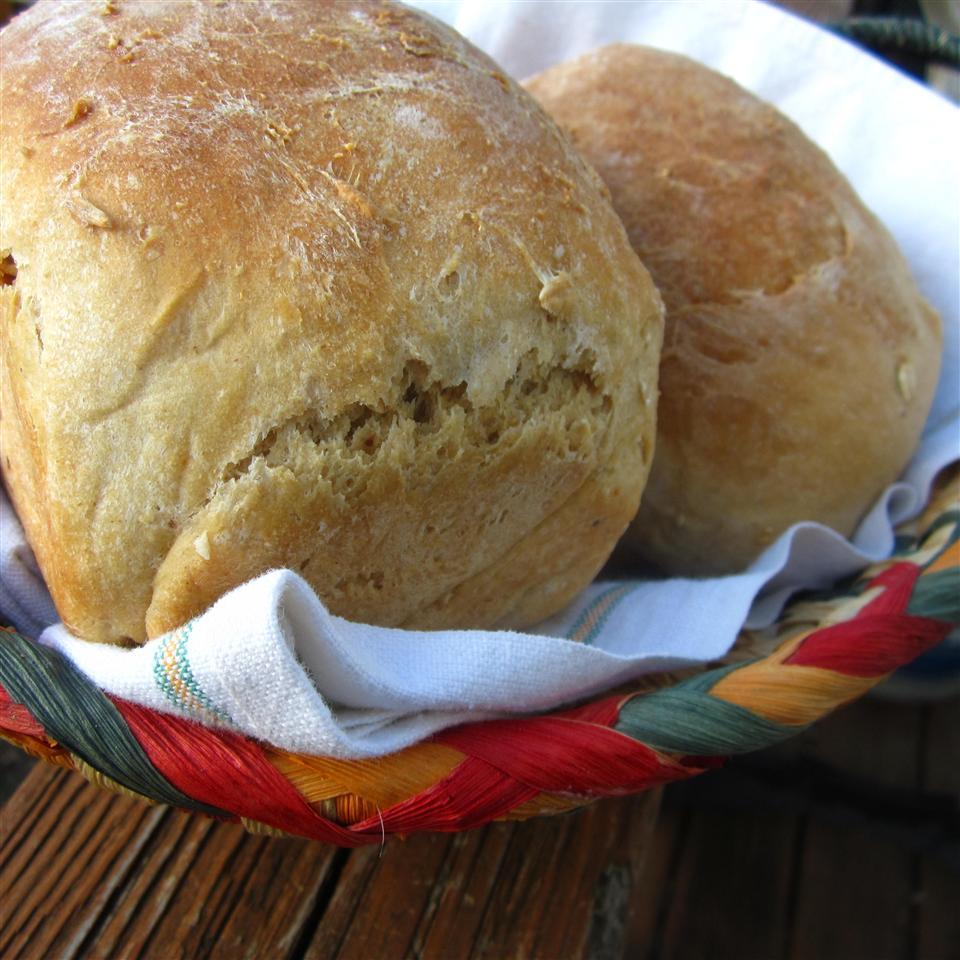 Crunchy Honey Wheat Bread