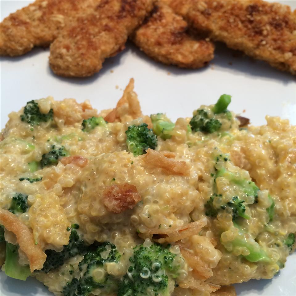 Quinoa Broccoli Casserole Laura Young