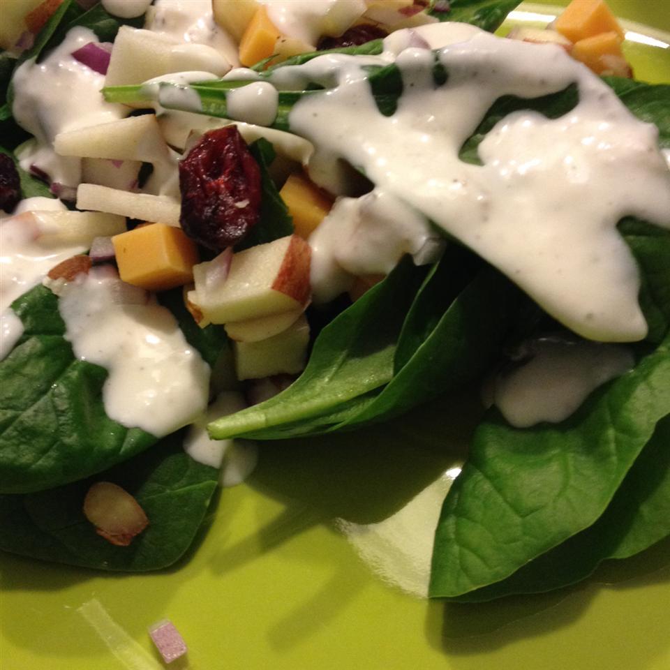 Super Seven Spinach Salad Kelly Demaret Delaney