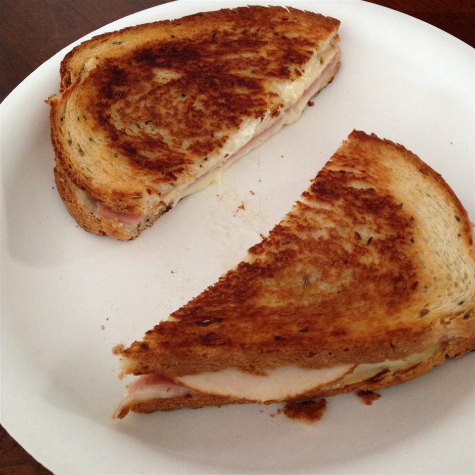 Grilled Chicken Cordon Bleu Sandwiches