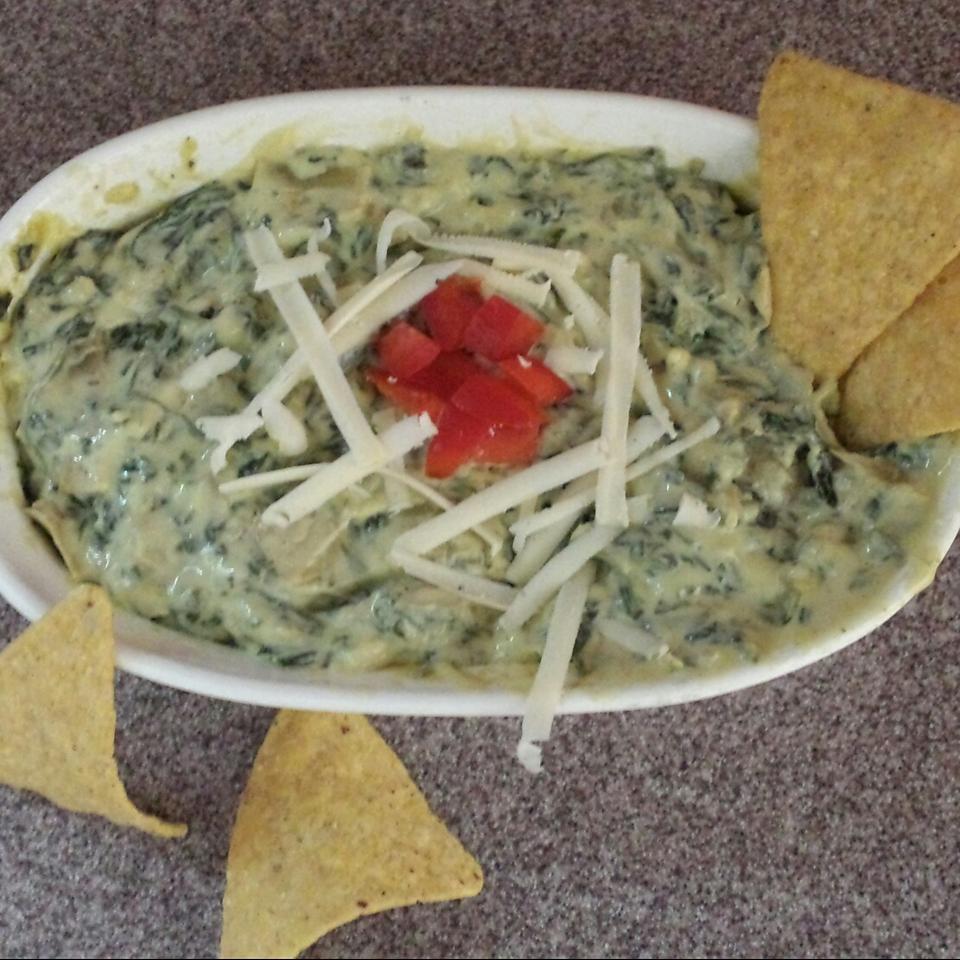 4-Cheese Spinach-Artichoke Dip