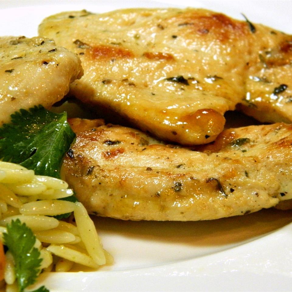 Chicken con Vino e Aglio (with Wine and Garlic) shark77