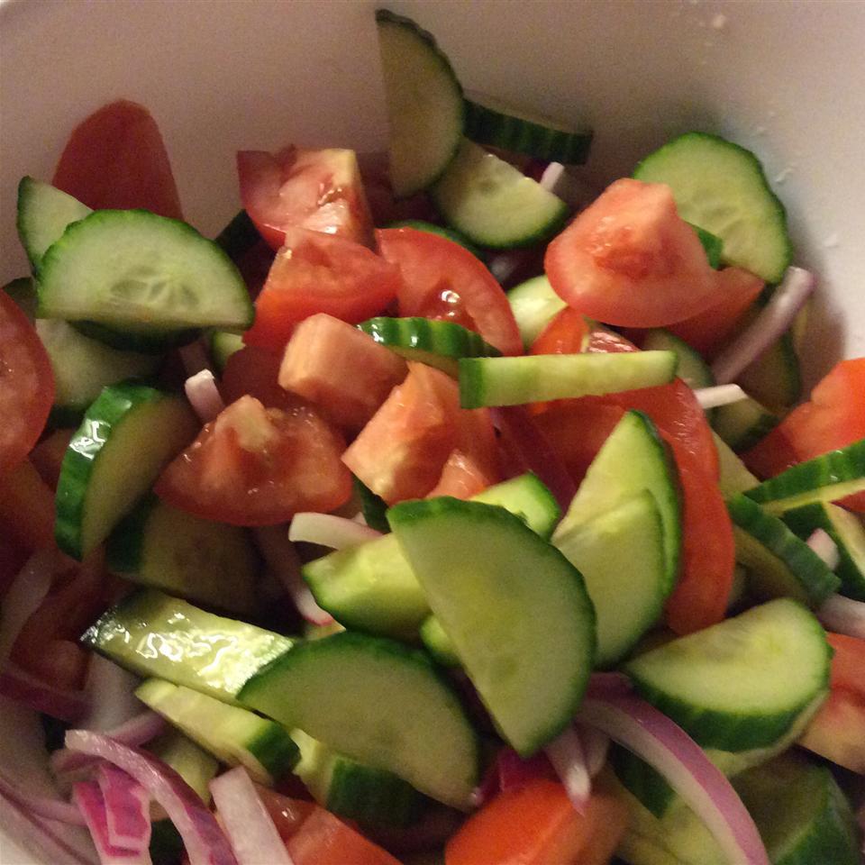 Refreshing Cucumber Salad SuzanneAndFam