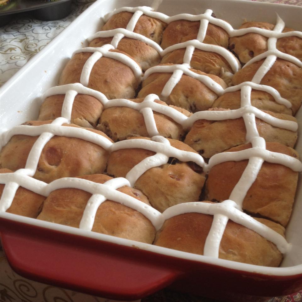 Easter Buttermilk Hot Cross Buns