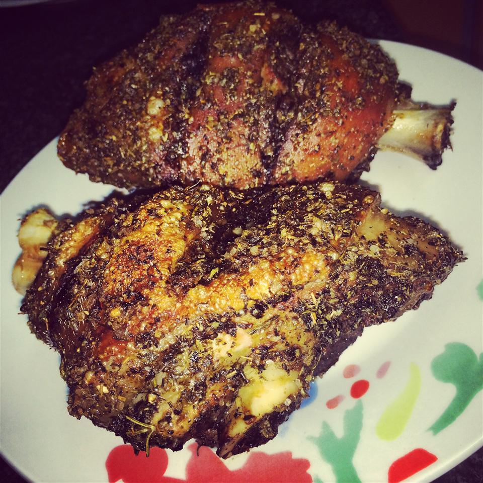 Grillhaxe (Grilled Eisbein, Pork Shanks) Lizzym89