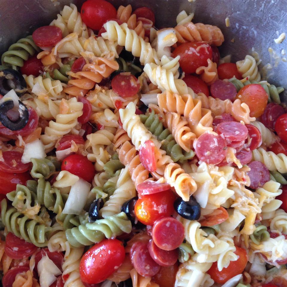 Classic Italian Pasta Salad Remilove