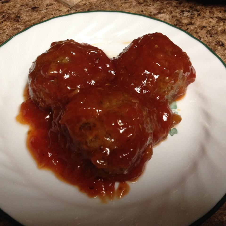 Zesty Vegetarian Sweet and Sour Meatballs thechulita