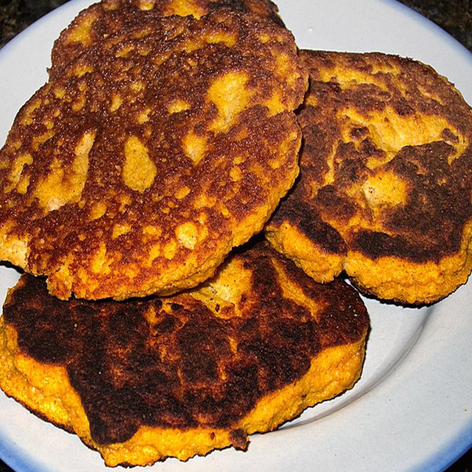 Paleo Pumpkin Pancakes Pam Wiebe Colander