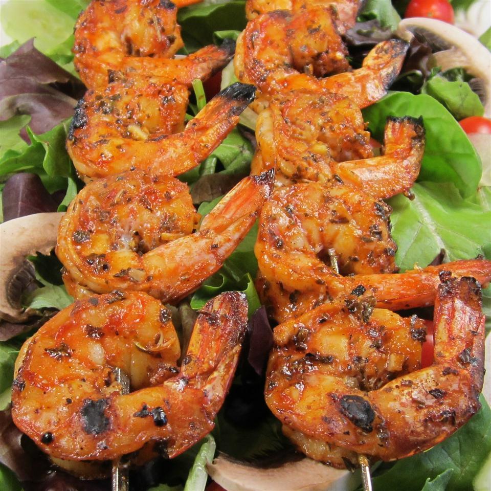 Grilled Garlic and Herb Shrimp Deb C