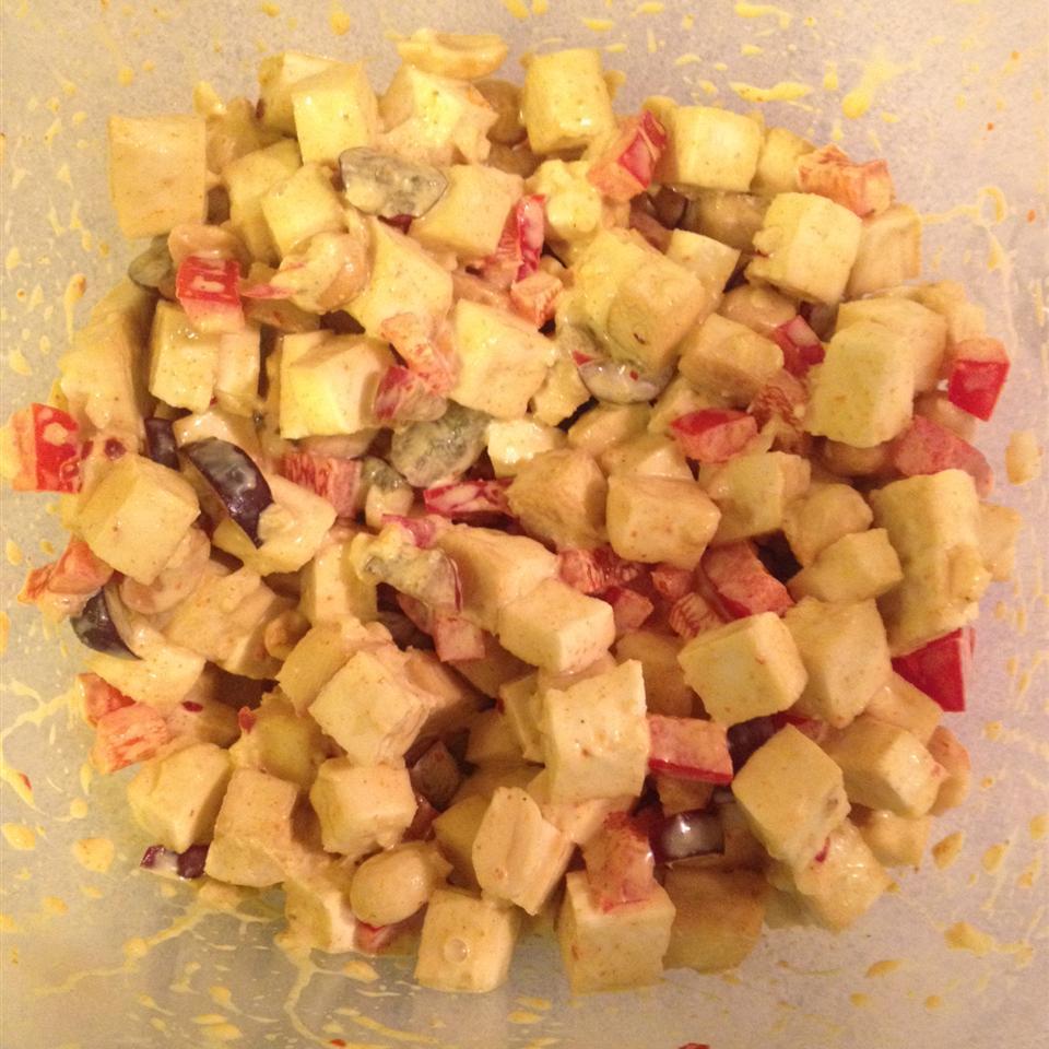 Curried Tofu Salad Chasity