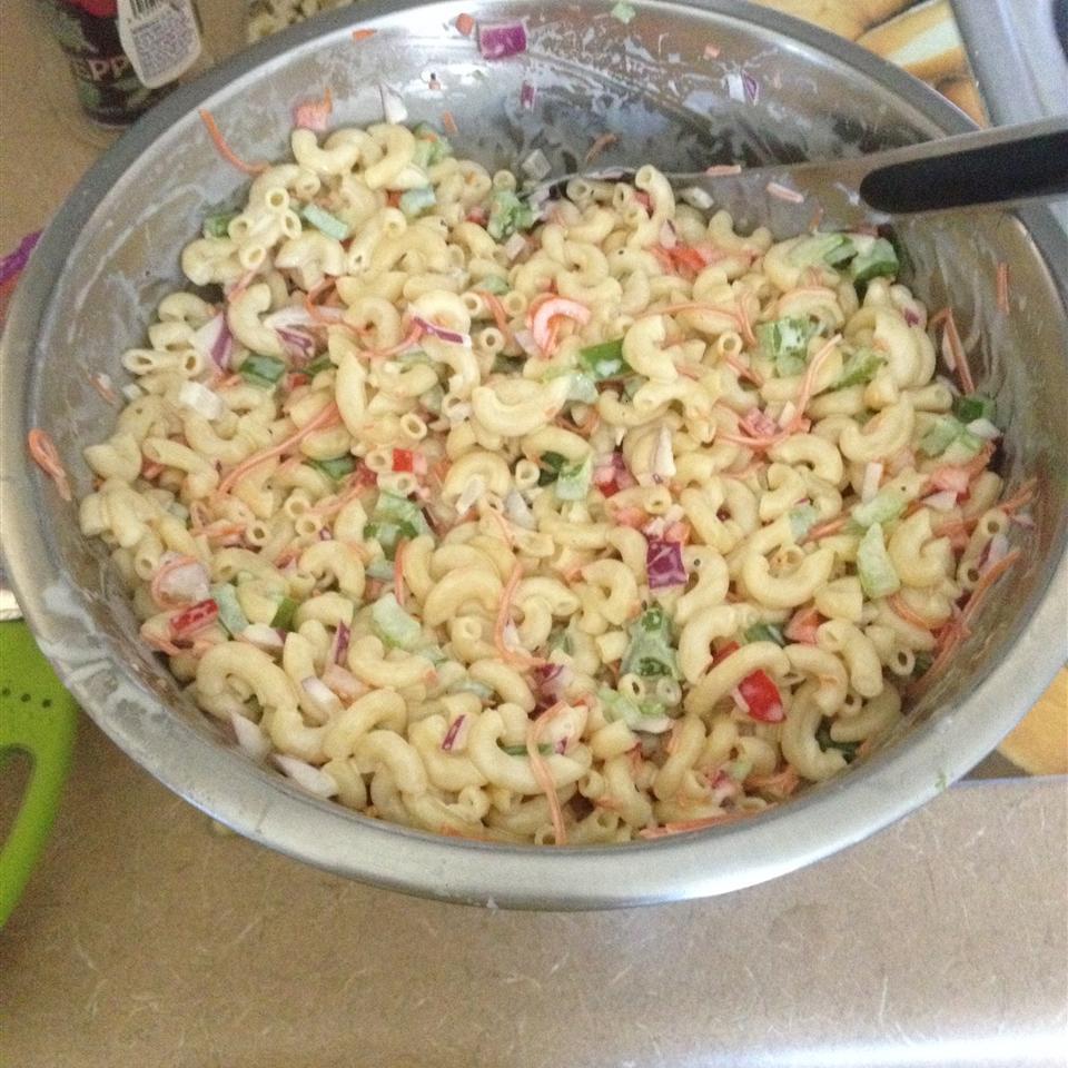 Healthier Classic Macaroni Salad Joshua Wise
