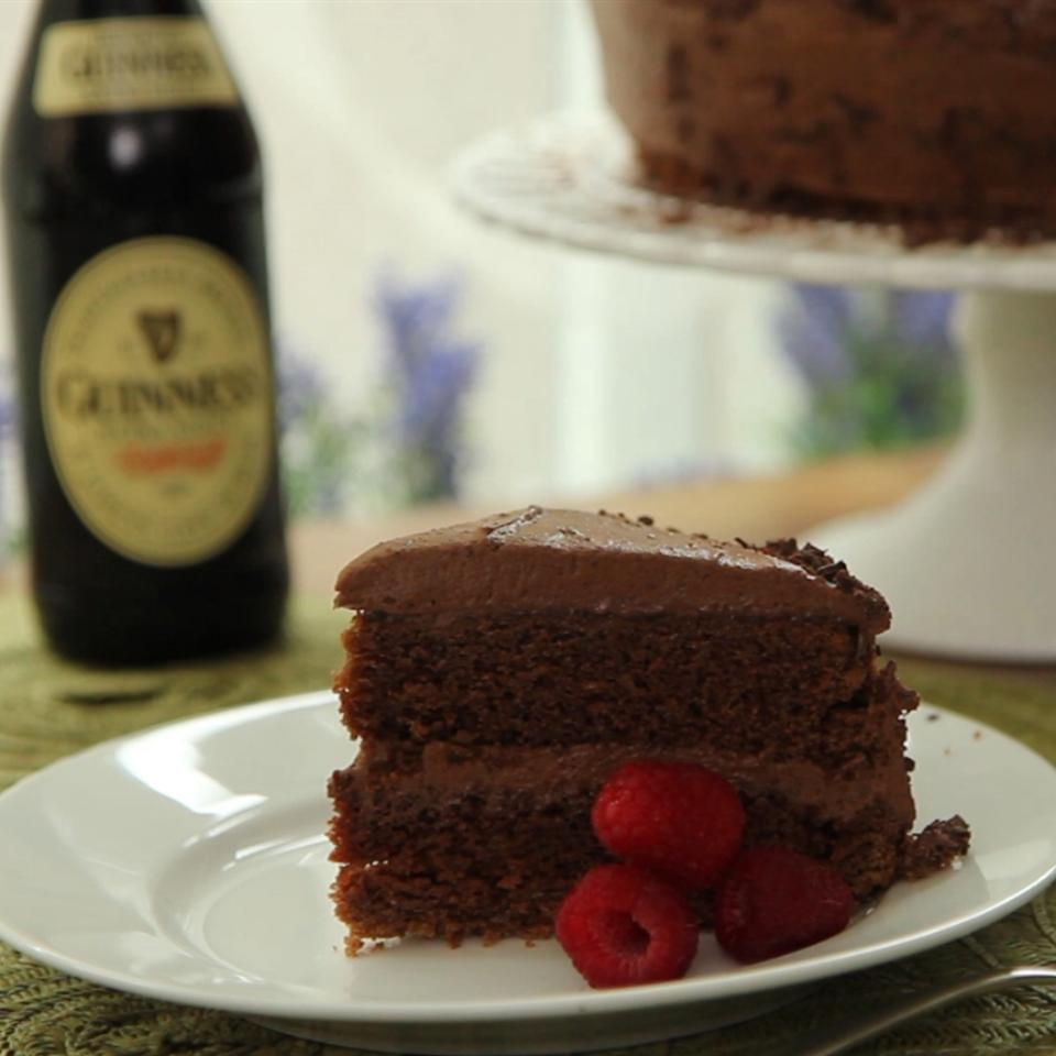 Diana's Guinness® Chocolate Cake with Guinness Chocolate Icing